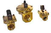 Solenoid valves for water