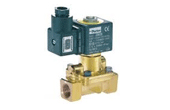 Solenoid valves for steam